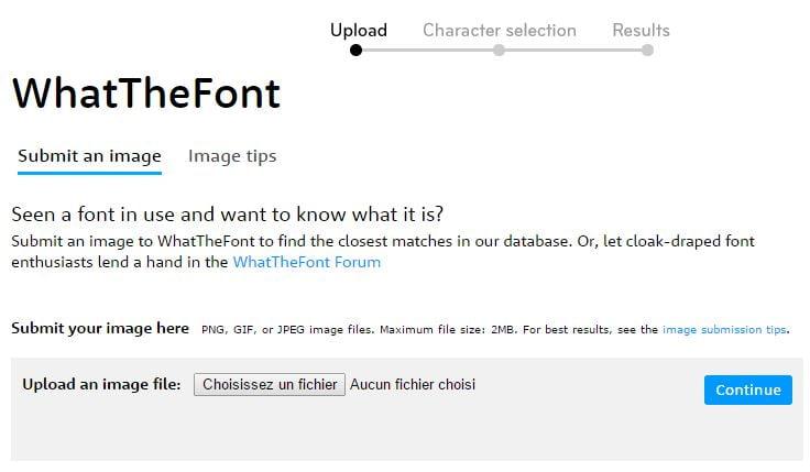 what-the-font 4 outils en ligne pour identifier une police de caractères
