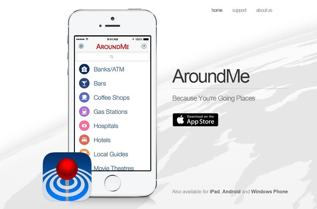 aroundme-1 Top 5 des applications mobiles qui vont vous simplifier la vie en 2016 !