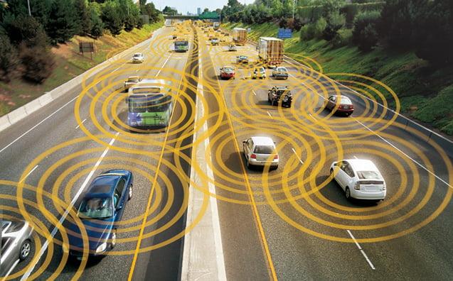 communication-v2v Les voitures autonomes :  peut-on en dépendre ?