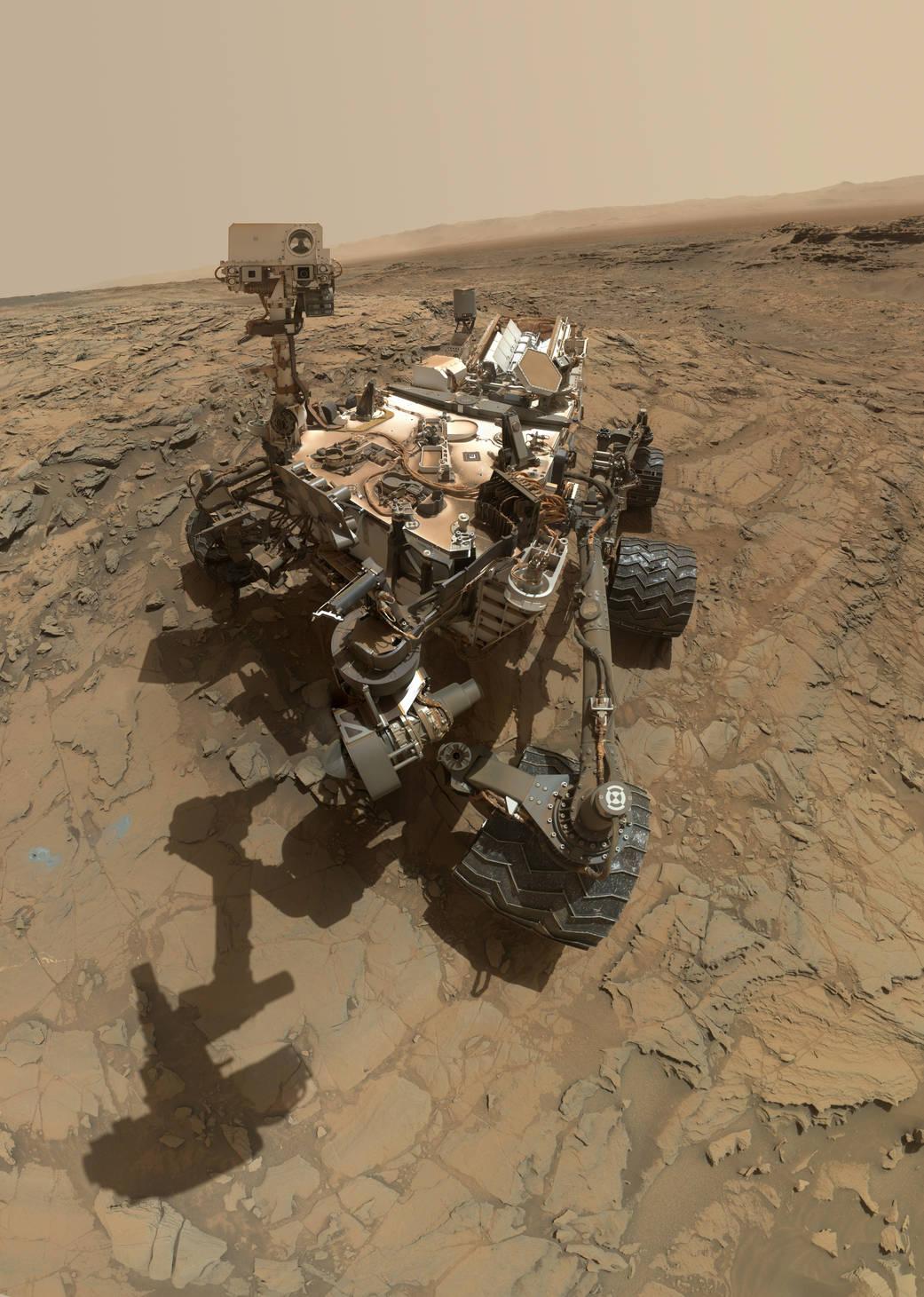 curiosity-selfie Voyagez sur Mars à 360° grâce à la NASA et Curiosity