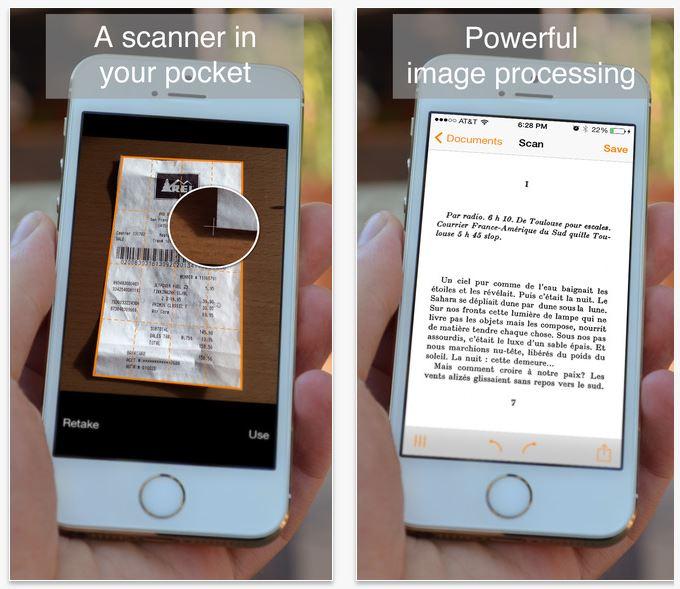 genius-scan Top 5 des applications mobiles qui vont vous simplifier la vie en 2016 !