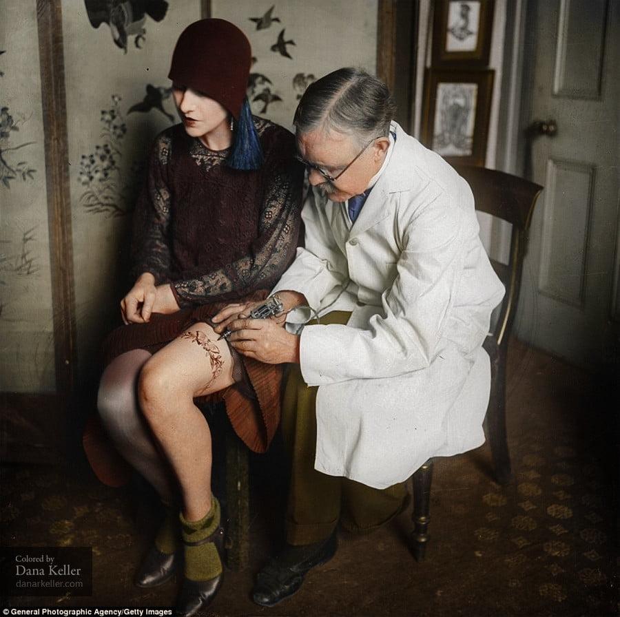 george-burchett ColorizedHistory : l'histoire sous un autre jour avec des photos colorisées