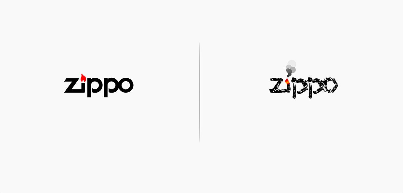 schembri-zippo Et si les logos étaient vraiment à l'image des marques...