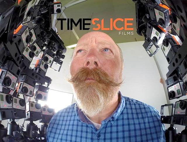 timeslice2 L'image du jour : la modélisation 4D d'un mec qui s'appelle Tim