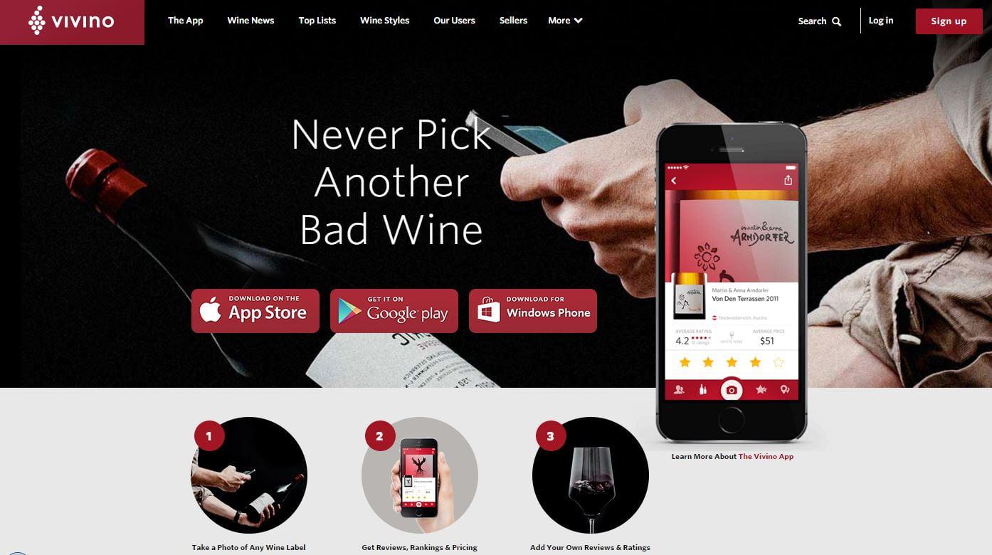 vivino-1 Top 5 des applications mobiles qui vont vous simplifier la vie en 2016 !