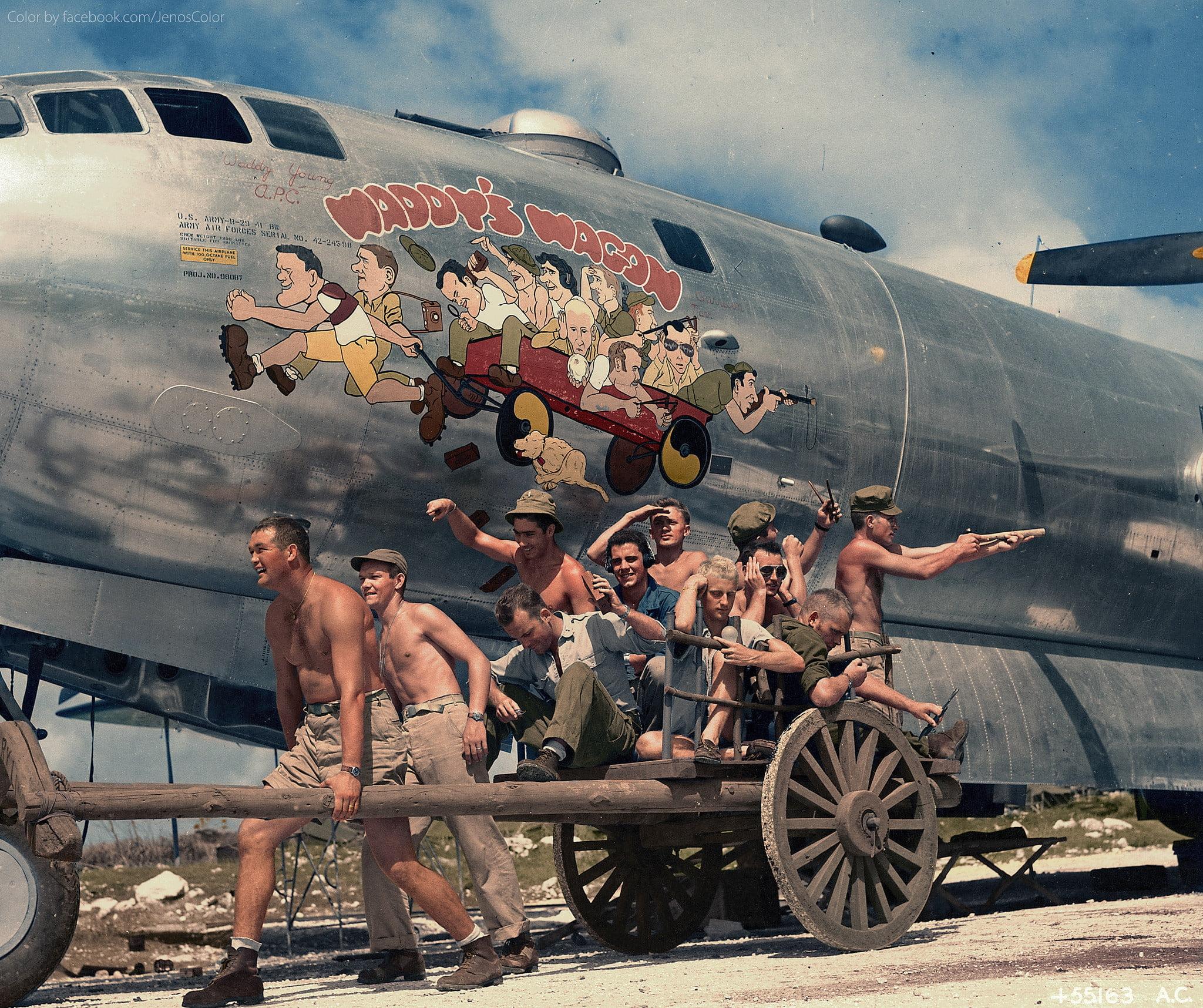 waddys-wagon ColorizedHistory : l'histoire sous un autre jour avec des photos colorisées