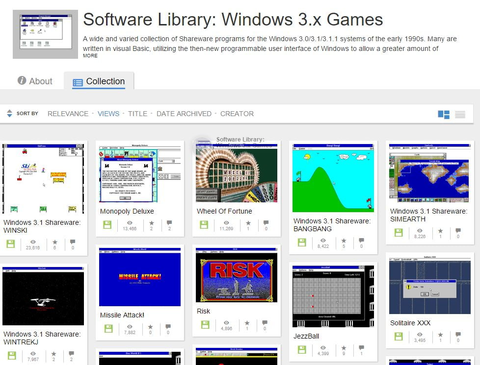 windows-3-1-games Plus de 1000 jeux compatibles Windows 3.1 jouables gratuitement en ligne !
