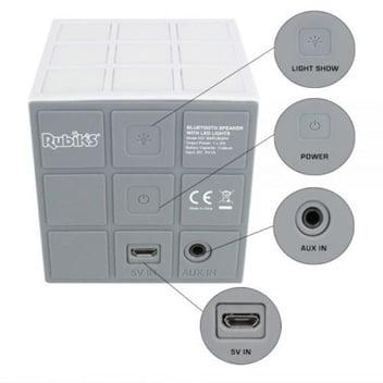 enceinte-rubkis-cube-dos Concours : une enceinte Bluetooth Rubiks Cube Danse LED 360 Lightshow à gagner !