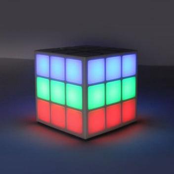 enceinte-rubkis-cube Concours : une enceinte Bluetooth Rubiks Cube Danse LED 360 Lightshow à gagner !