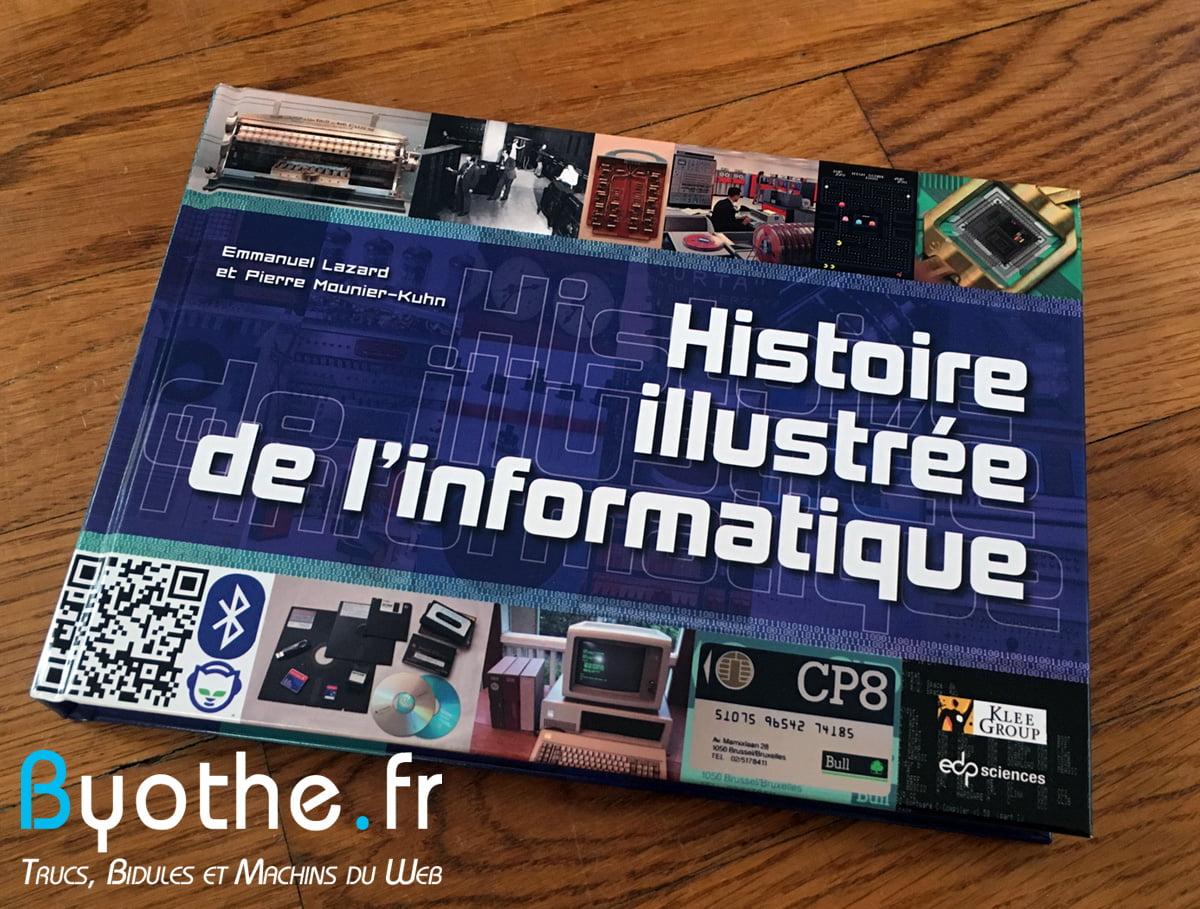 histoire-illustre-informatique Coup de cœur : Un livre illustré pour découvrir l'Histoire de l'informatique