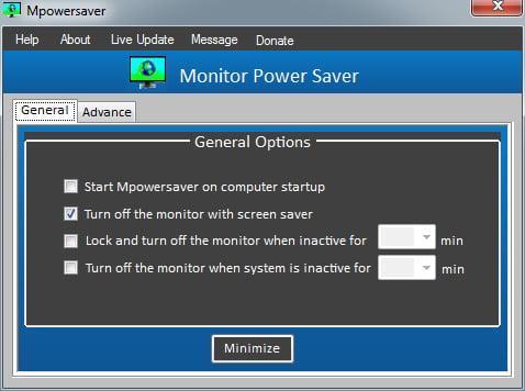 mpowersaver MPowerSaver : éteignez automatiquement votre écran quand vous n'utilisez pas votre ordi