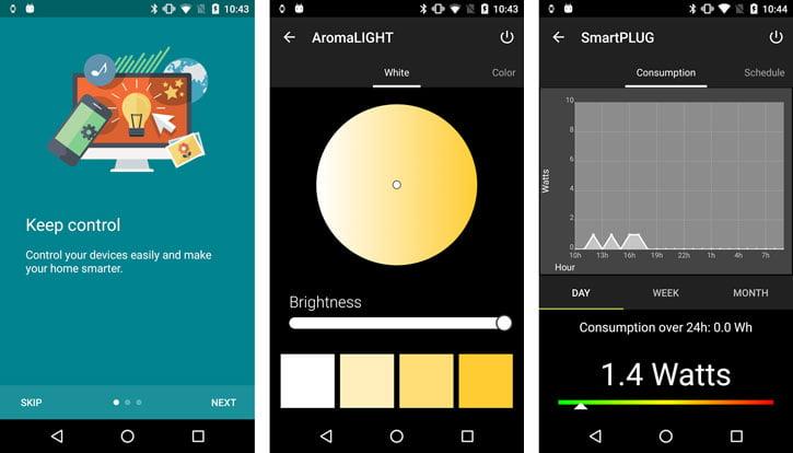 application-awox-smartcontrol Concours : une Ampoule AwoX SmartLED contrôlée par smartphone à gagner !