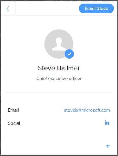 clearbit-ballmer Trouver l'adresse email professionnelle de n'importe qui grâce à Clearbit