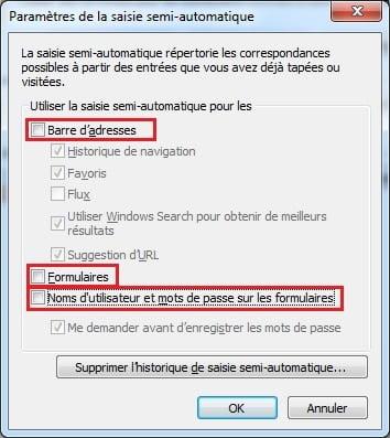 saisie-automatique-internet-explorer Comment désactiver la saisie automatique dans votre navigateur web