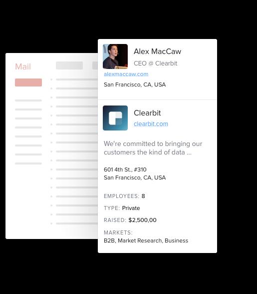 sidebar-contact Trouver l'adresse email professionnelle de n'importe qui grâce à Clearbit