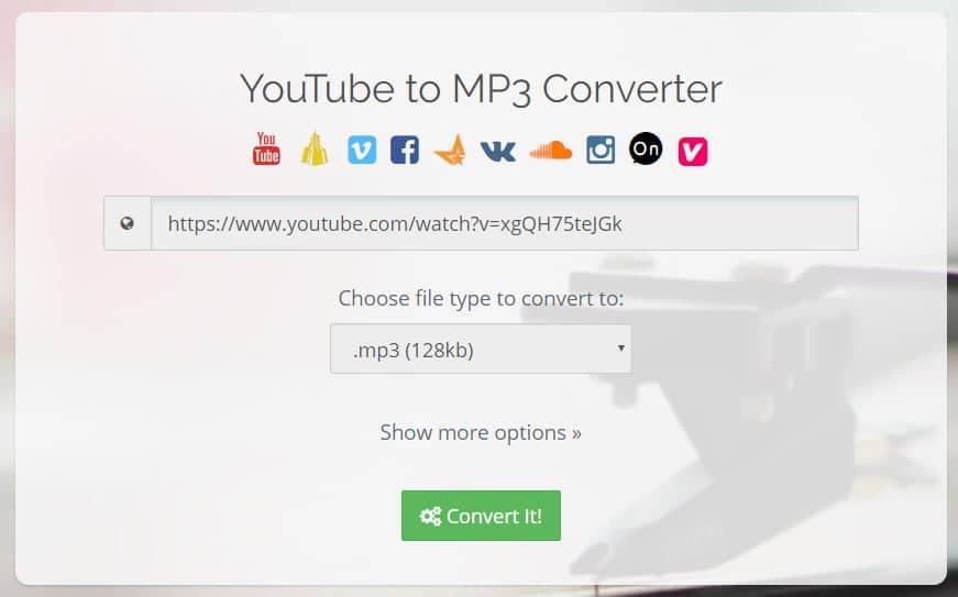 converttoaudio ConvertToAudio : extraire le son ou télécharger les vidéos du web