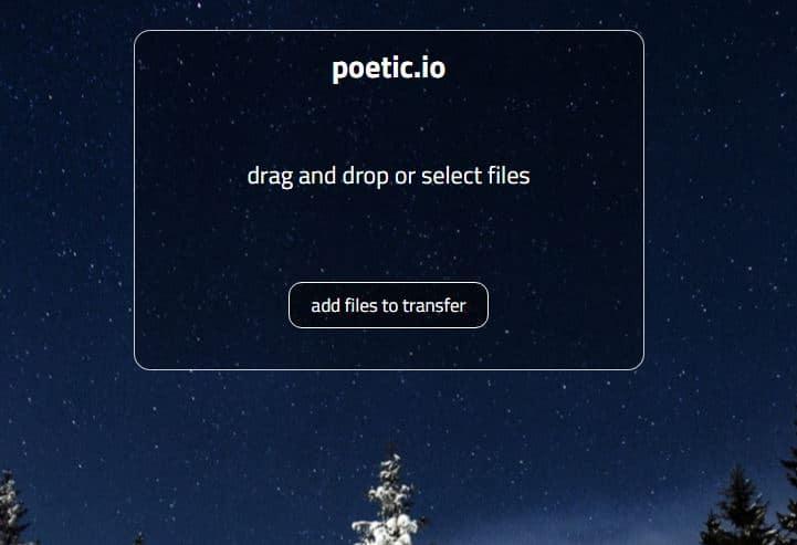 poetic-io Le top 10 des sites gratuits pour l'envoi de gros fichiers