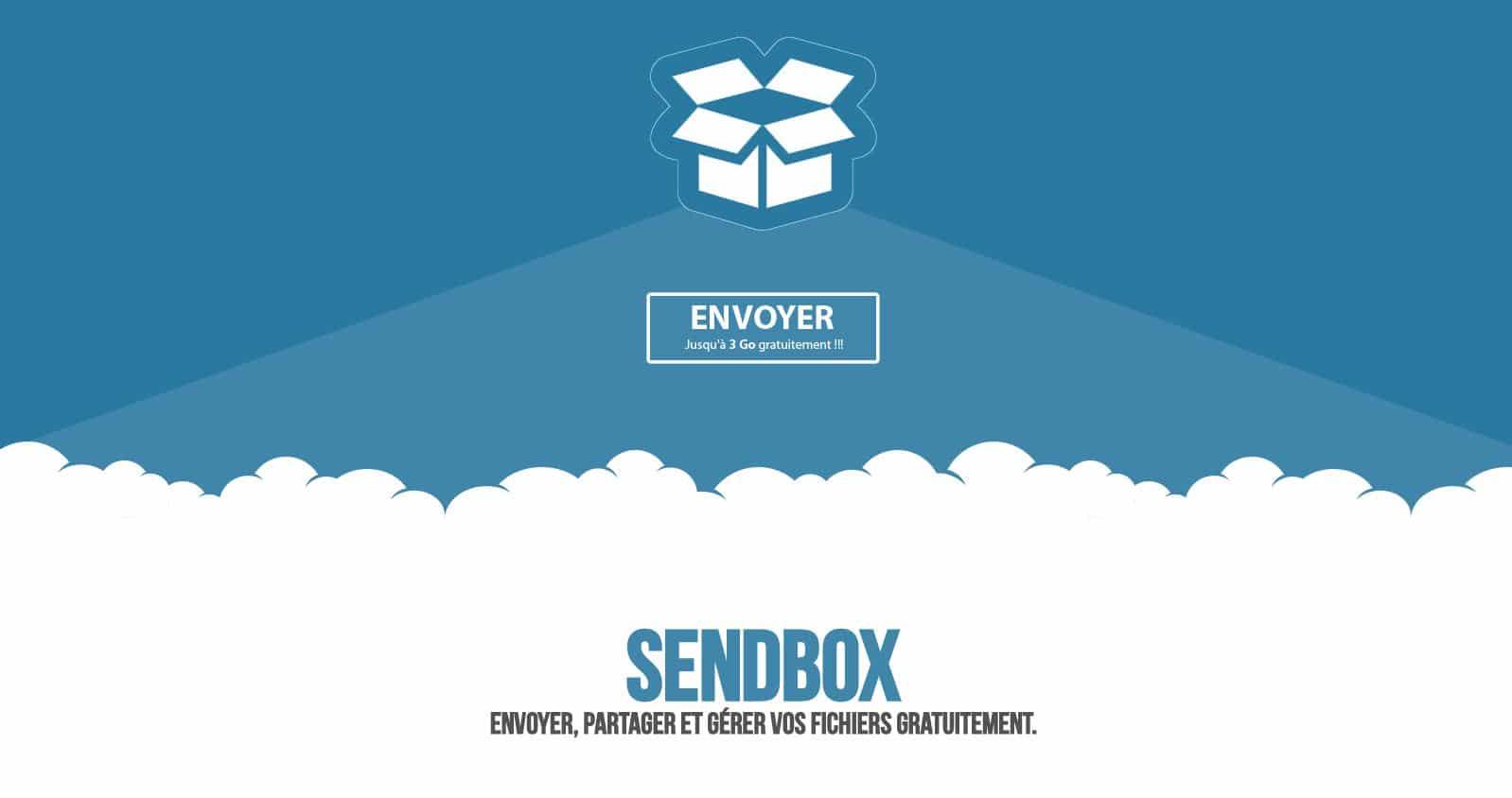 sendbox Le top 10 des sites gratuits pour l'envoi de gros fichiers