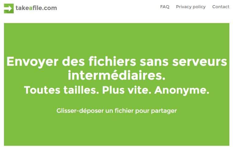 takeafile-com Le top 10 des sites gratuits pour l'envoi de gros fichiers