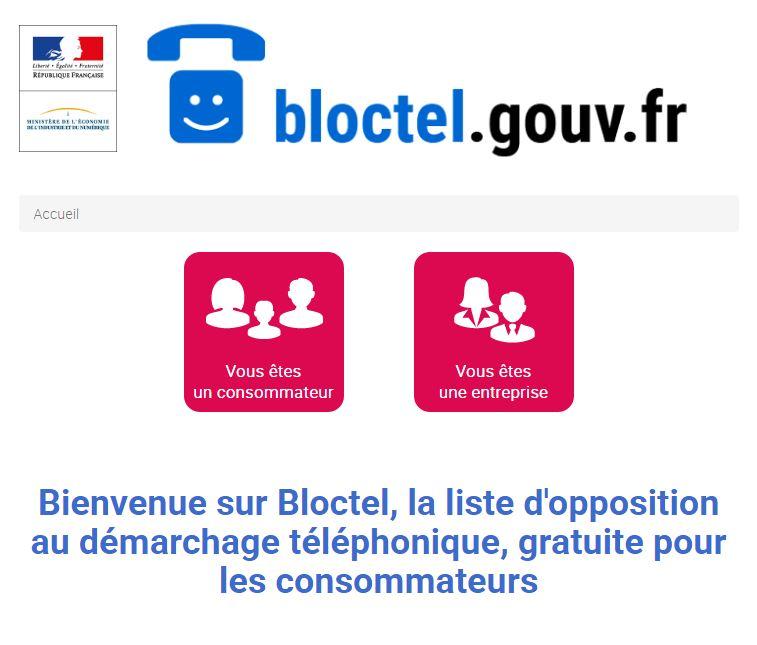 bloctel Bloctel : protégez vos numéros des démarchages téléphoniques