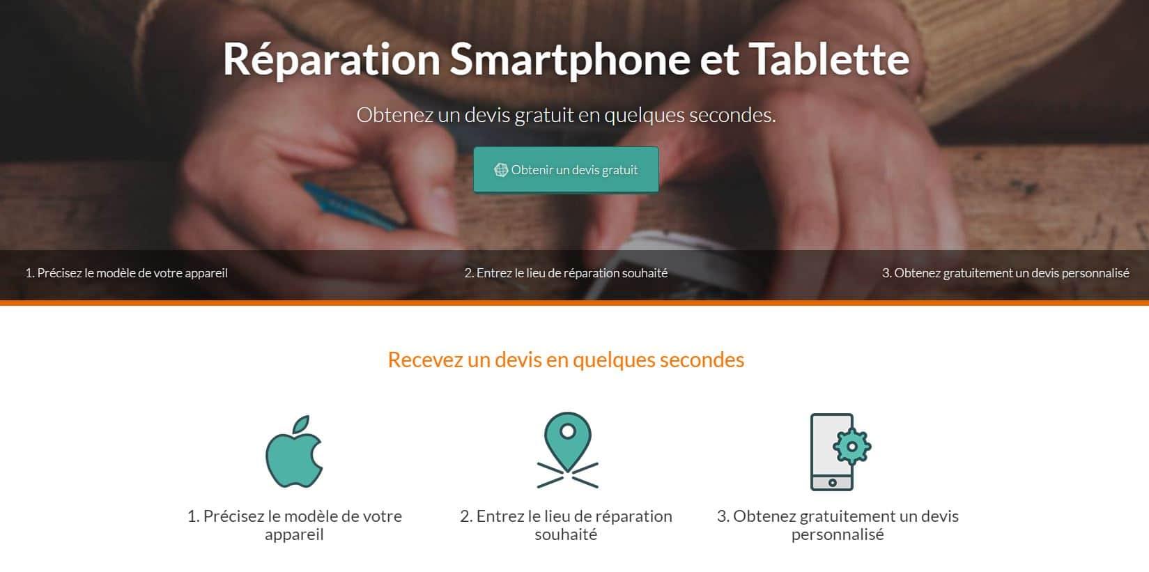 phonehubs Phonehubs : obtenez un devis partout en France pour réparer votre smartphone