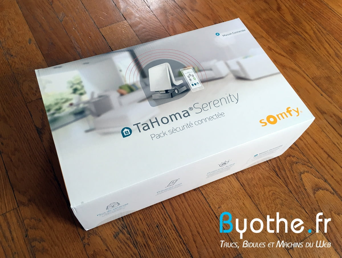 test tahoma serenity la box intelligente de somfy pour une maison connect e et prot g e. Black Bedroom Furniture Sets. Home Design Ideas