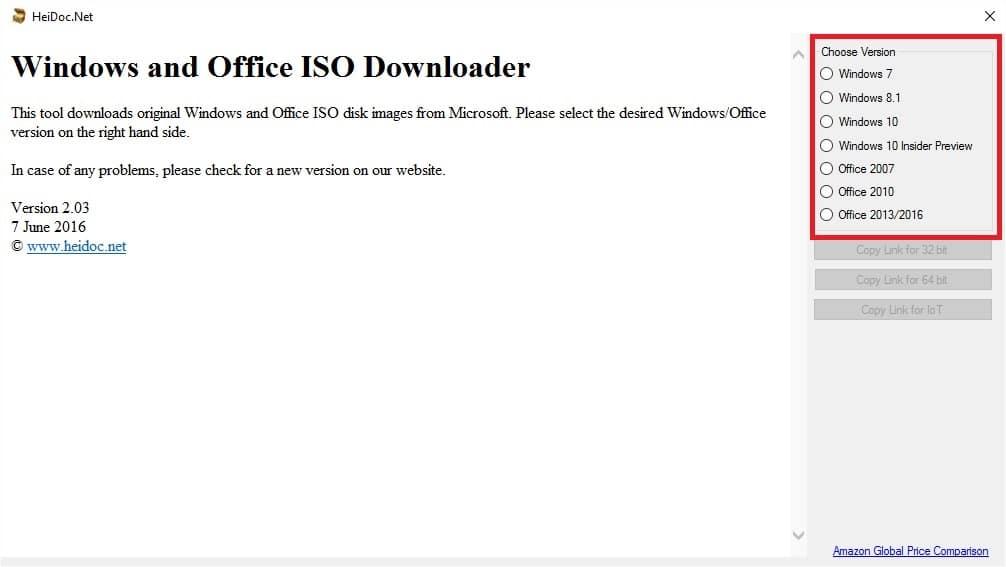windows-iso-downloader-1 Télécharger facilement les CD d'installation de Windows (ISO)