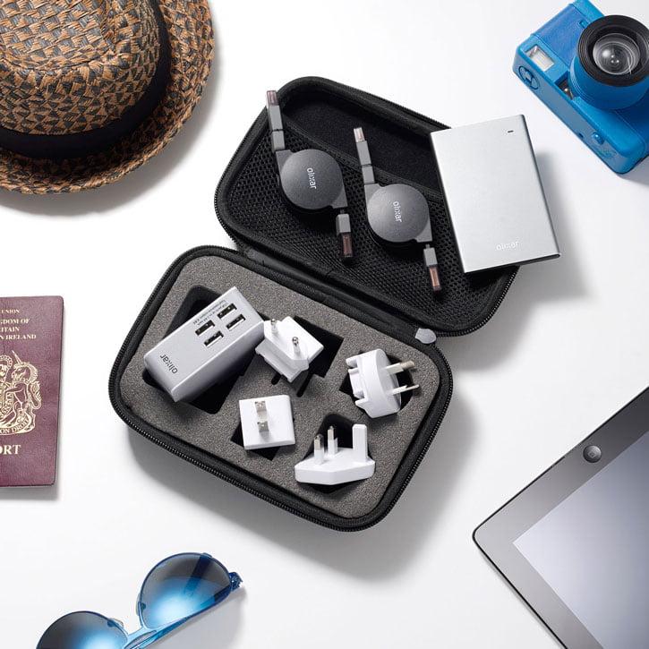 kit-voyage-olixar2 Concours : un pack d'accessoires pour éviter les pannes de batterie à gagner !