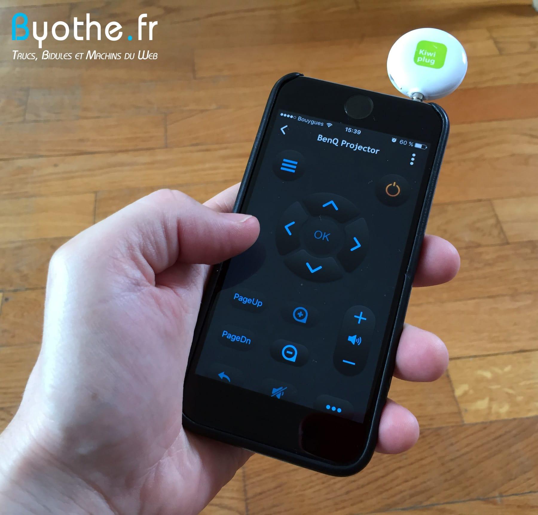 kiwi-plug-iphone2 Kiwi plug : transformez votre smartphone en télécommande universelle