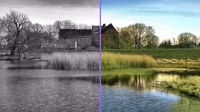 rendered-comparison-colorize-photo-3 Coloriser une photo noir et blanc gratuitement et en ligne !