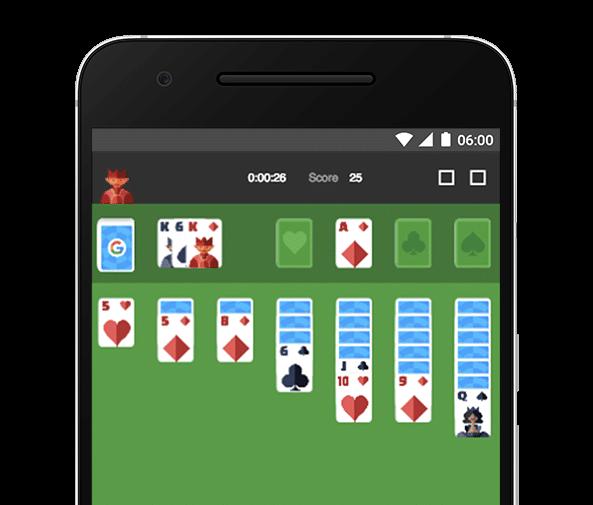 solitaire-google-e1472141968374 Vous pouvez désormais jouer au morpion et au solitaire directement dans Google !