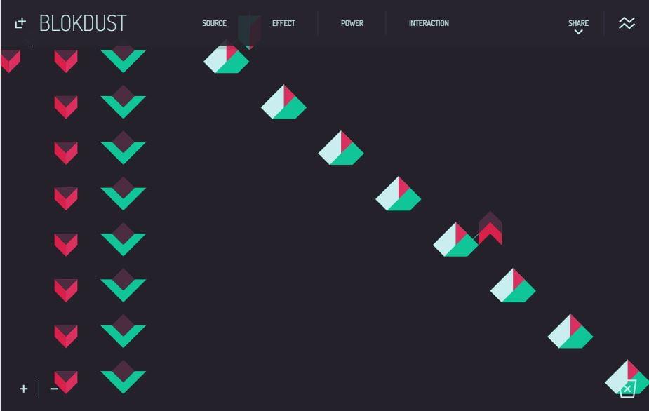 blokdust-8-step-sequencer BlokDust : une jolie façon de faire de la musique dans votre navigateur