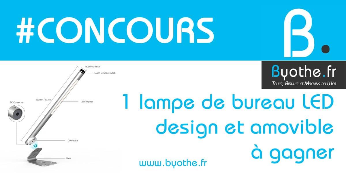 concours-lampe-dodocool-design #Concours : une lampe de bureau LED design et rechargeable à gagner !