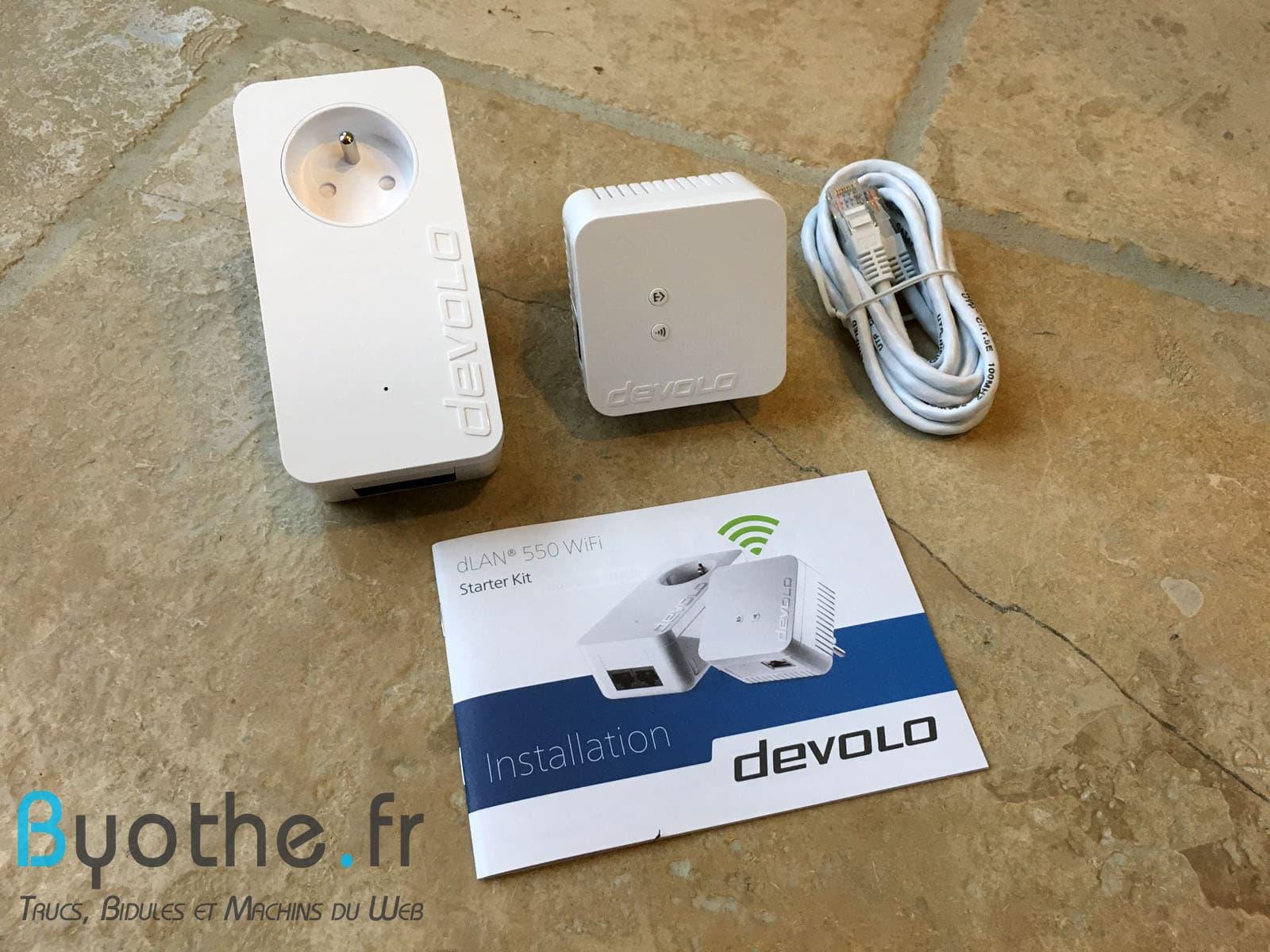 devolo-dlan-550-kit Test de l'adaptateur CPL dLAN 550 WiFi de Devolo. En un mot : simplicité !