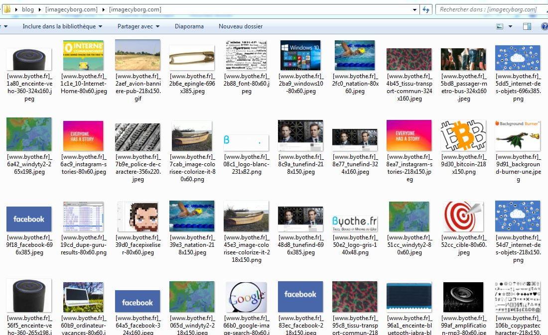 imagecyborg-byothe-zip ImageCyborg vous permet de récupérer toutes les images d'une page web