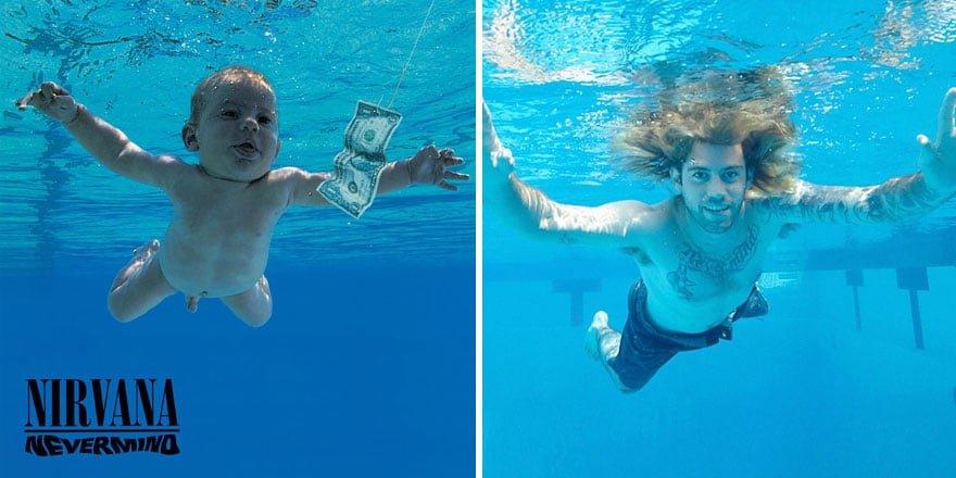nirvana-nevermind-bebe-25-ans-3 L'image du jour : Le bébé de la pochette de Nevermind de Nirvana 25 ans après