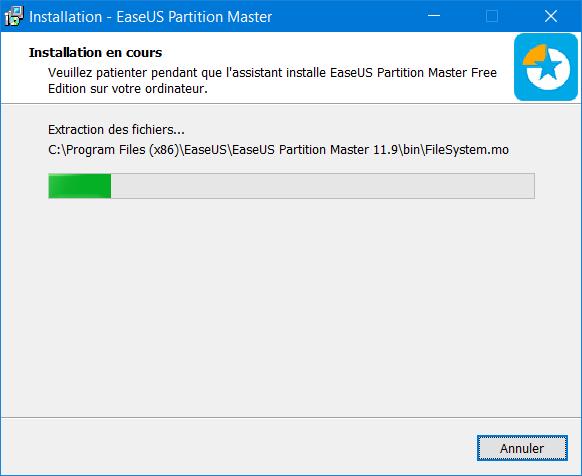 installation-easeus-partition-master Besoin de place sur votre partition système, voici comment l'étendre !