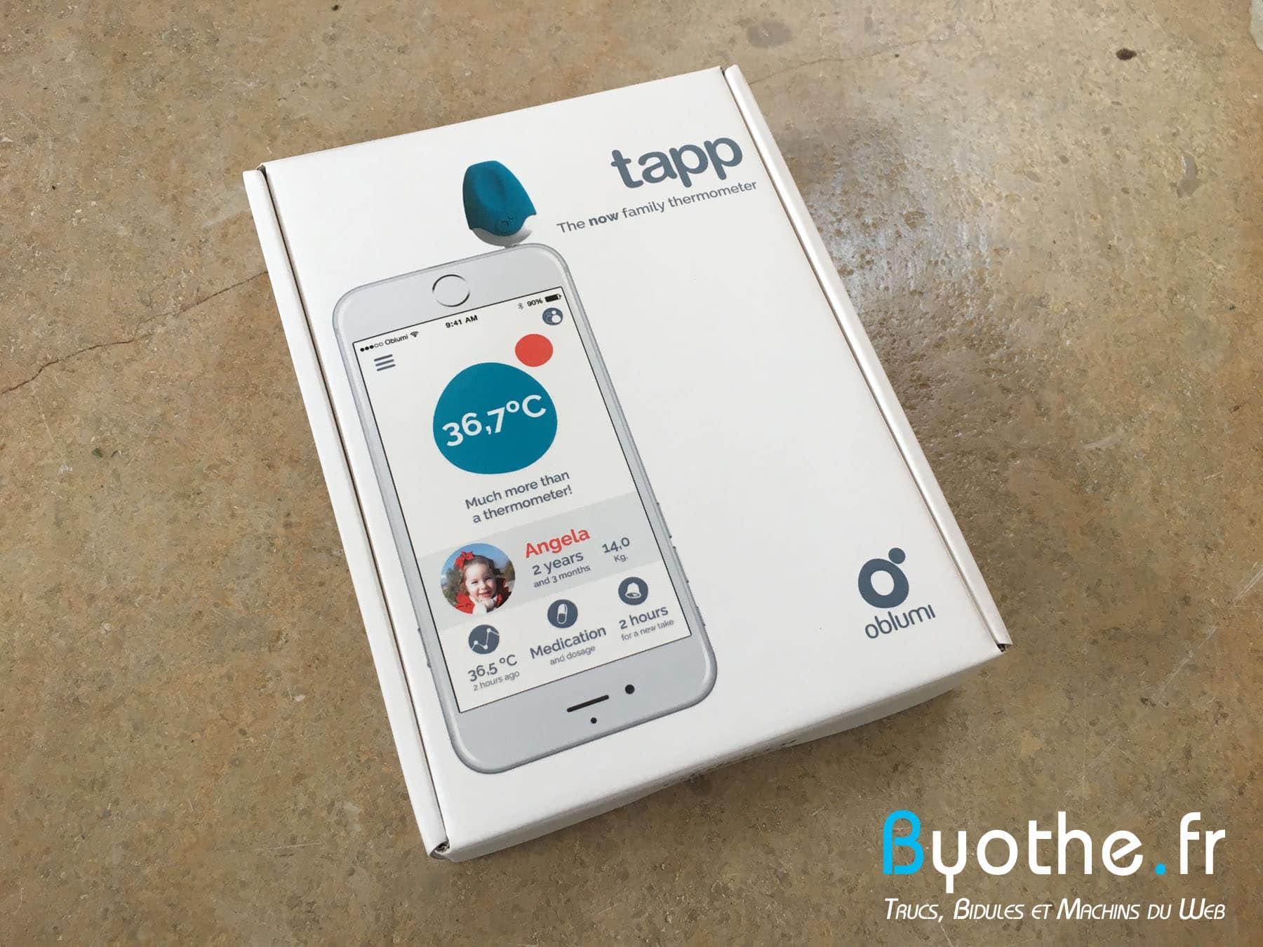 oblumi-tapp-12 Test du thermomètre digital connecté pour toute la famille Oblumi Tapp