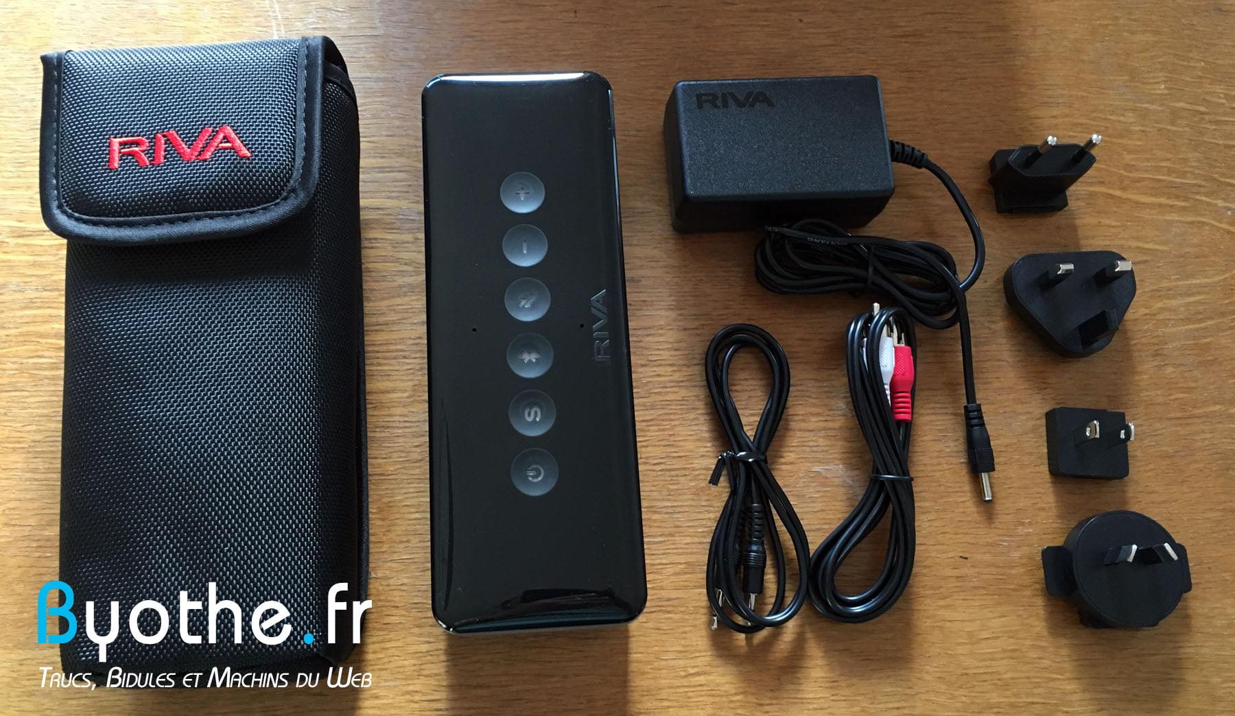 riva-s-byothe-13 Test : RIVA S une enceinte Bluetooth portable qui en a sous le capot !