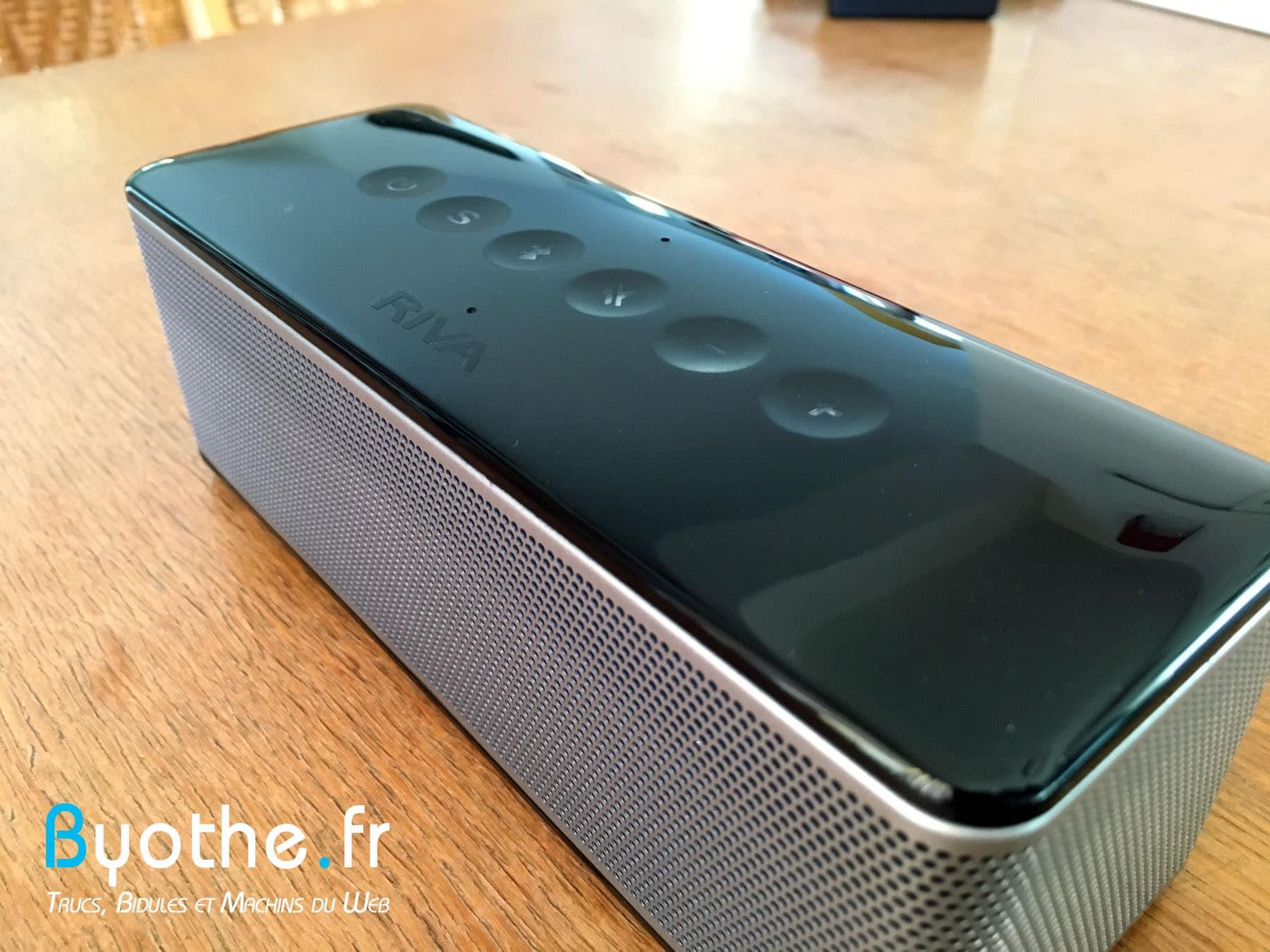 riva-s-byothe-5 Test : RIVA S une enceinte Bluetooth portable qui en a sous le capot !
