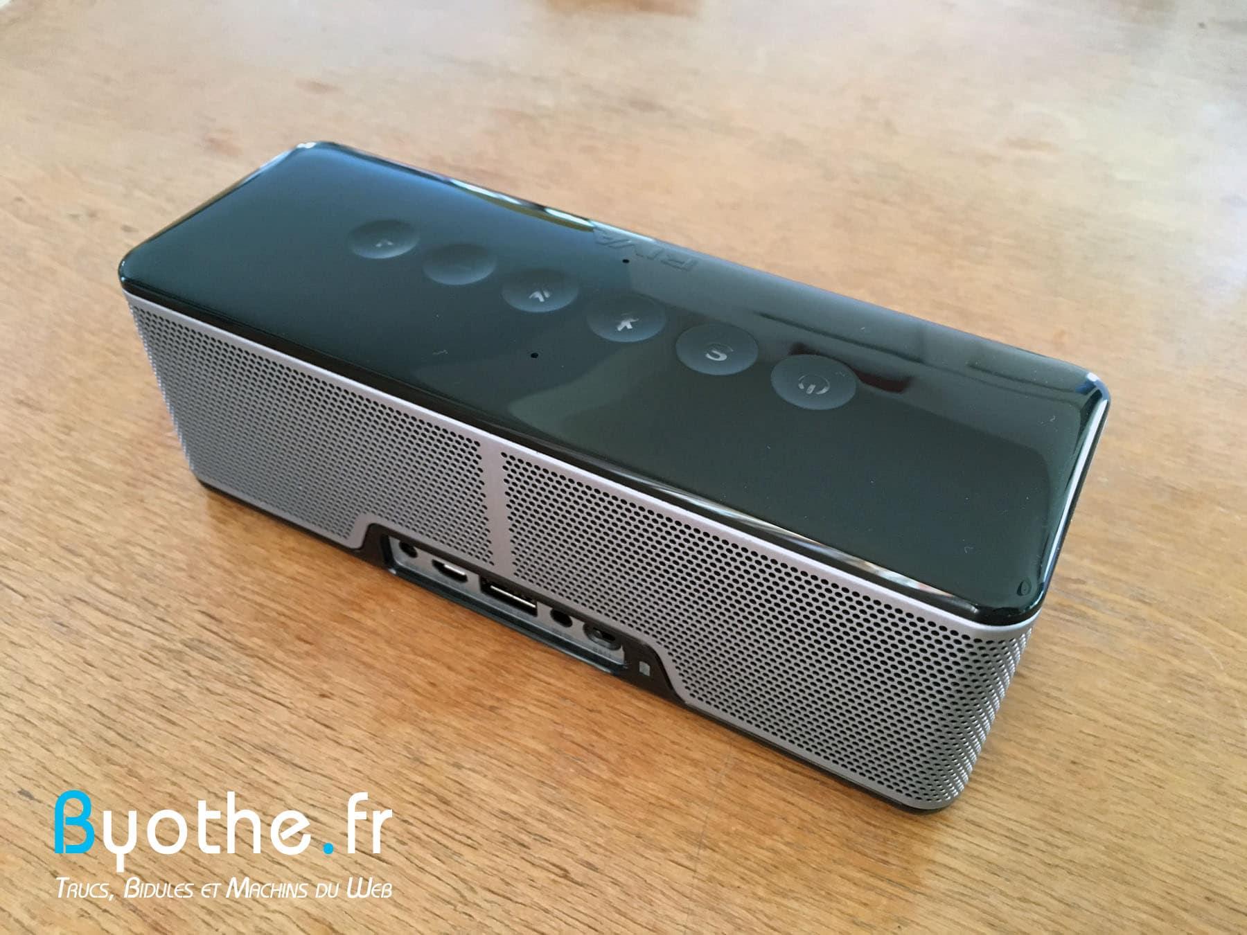 riva-s-byothe-6 Test : RIVA S une enceinte Bluetooth portable qui en a sous le capot !