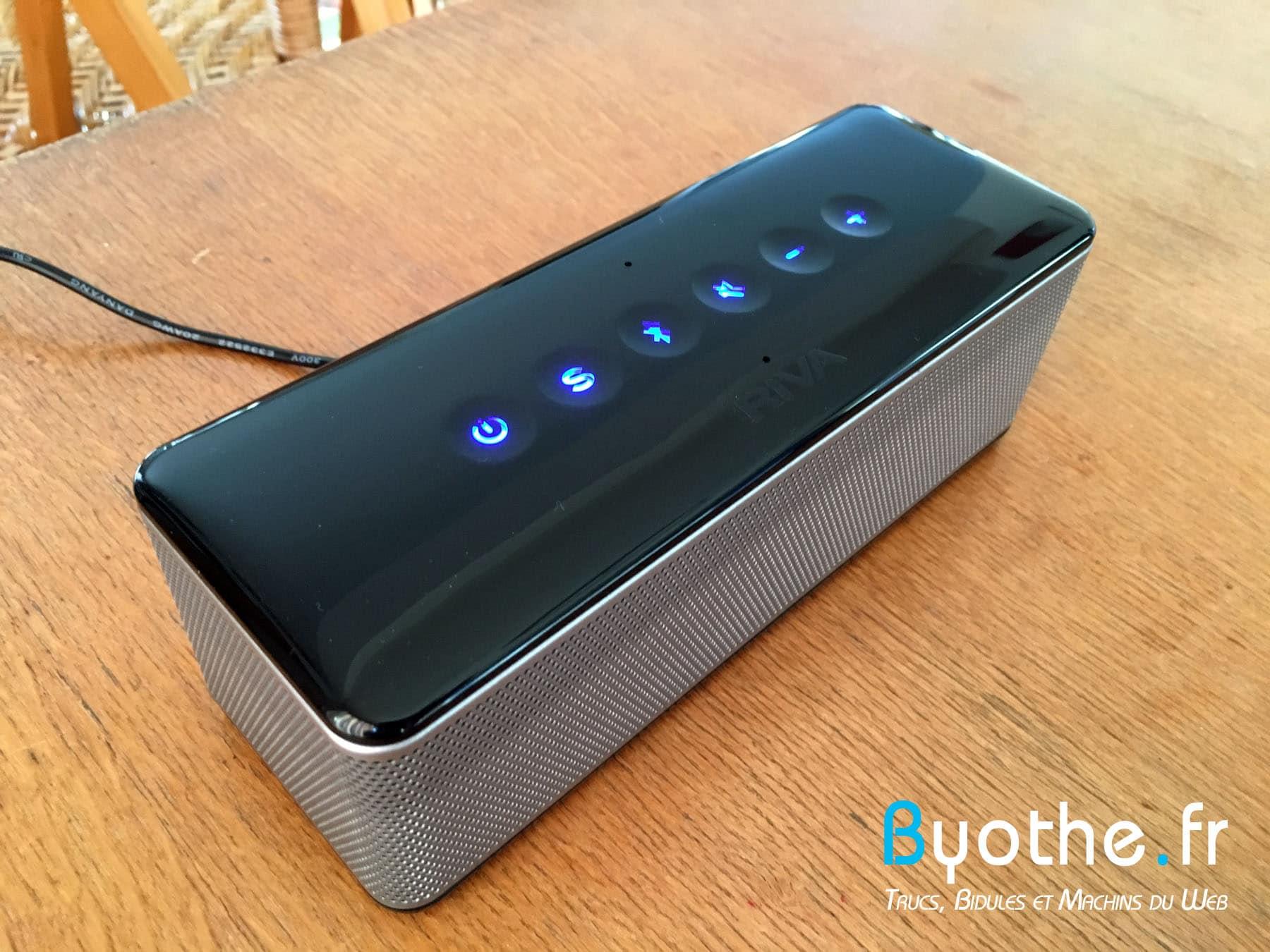 riva-s-byothe-7 Test : RIVA S une enceinte Bluetooth portable qui en a sous le capot !