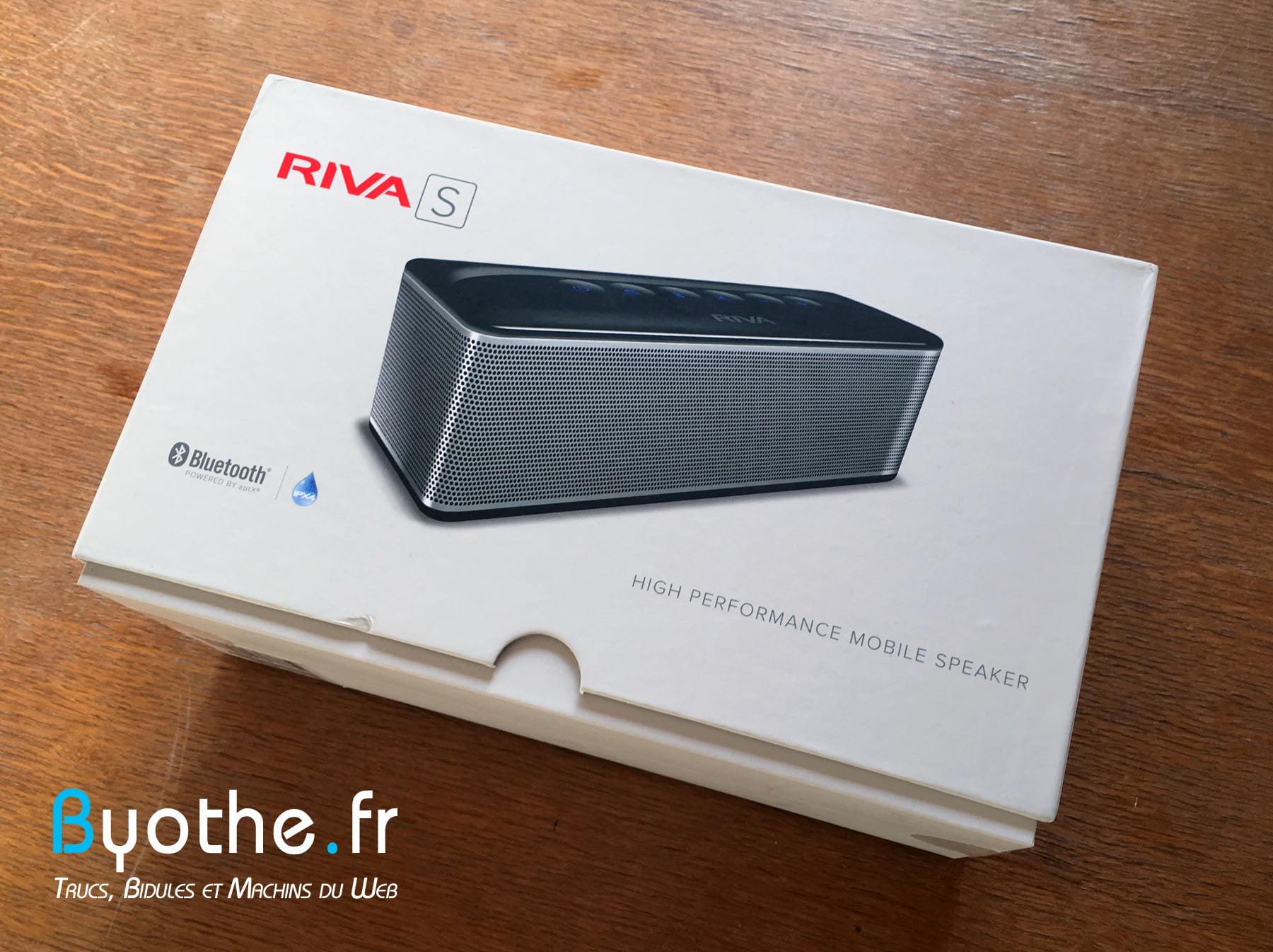 riva-s-byothe-9 Test : RIVA S une enceinte Bluetooth portable qui en a sous le capot !