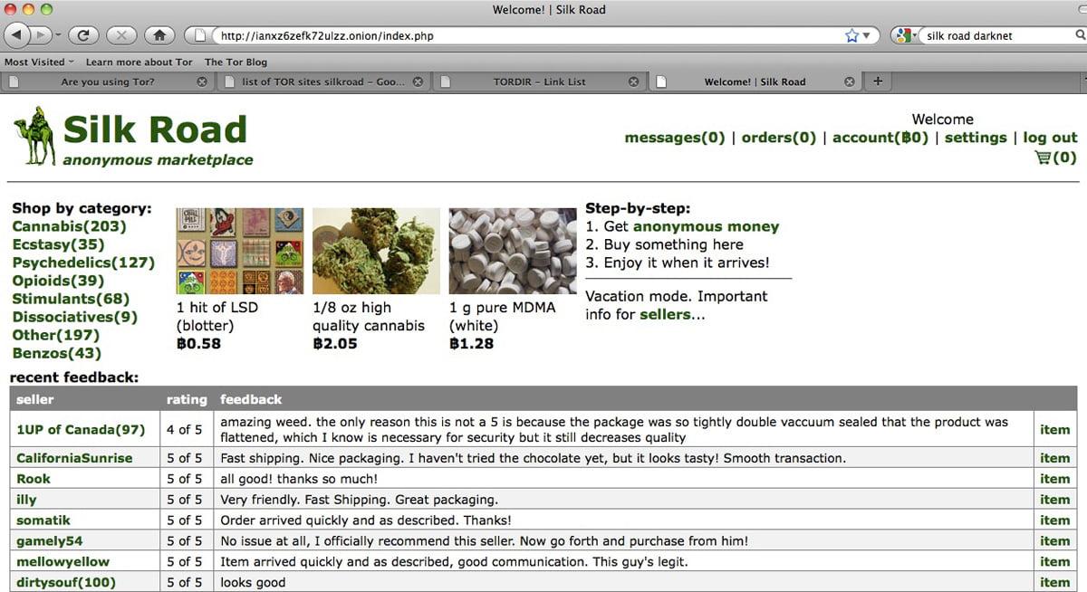 silkroad-drogue-dark-web Le Dark Web c'est quoi ? Découvrez la face cachée d'Internet !