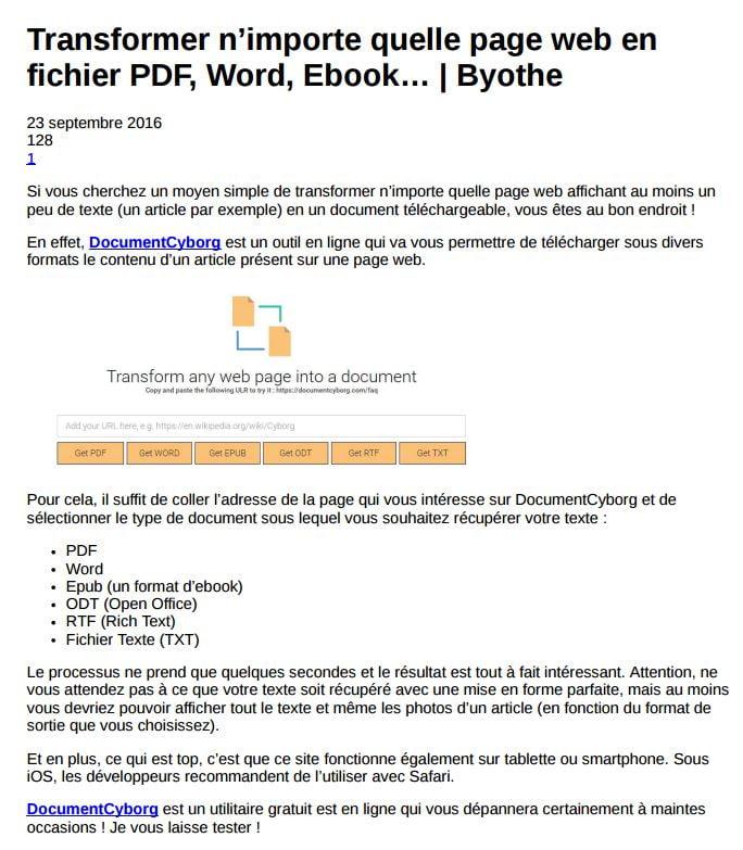 athena-agressif Comment imprimer en PDF une page web entière ?