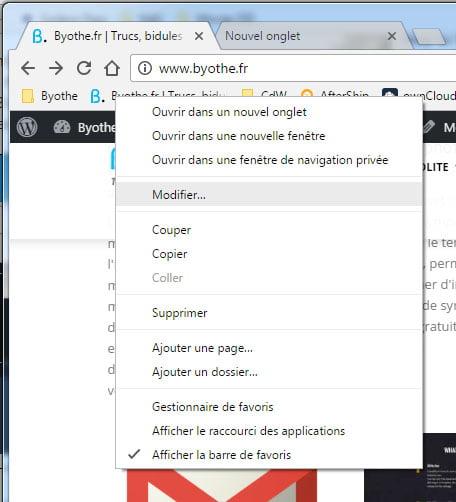 chrome-restart-modifier Redémarrer instantanément Chrome en conservant ses onglets