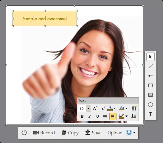 cloudshot1 CloudShot : un outil gratuit pour faire vos captures d'écran