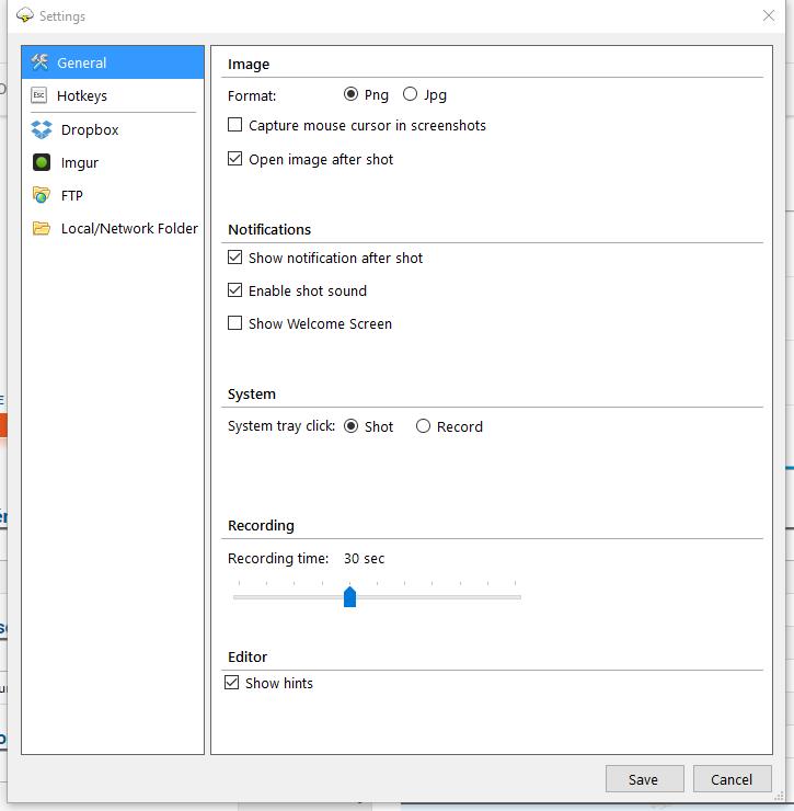 cloudshot2 CloudShot : un outil gratuit pour faire vos captures d'écran