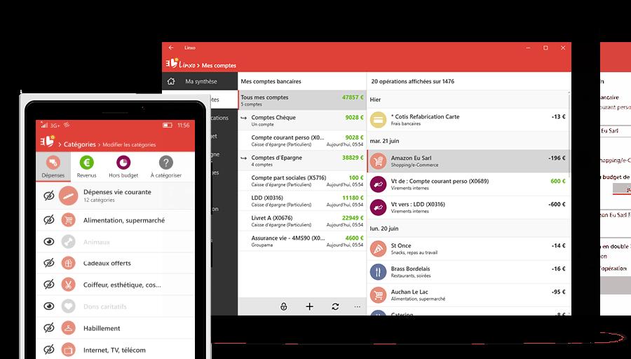 linxo-vue-comptes Linxo, une application gratuite pour suivre tous ses comptes en banque !