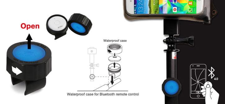 perche-selfie-dicapac-bouton #Concours : une perche à selfie DiCAPac Bluetooth étanche à gagner !